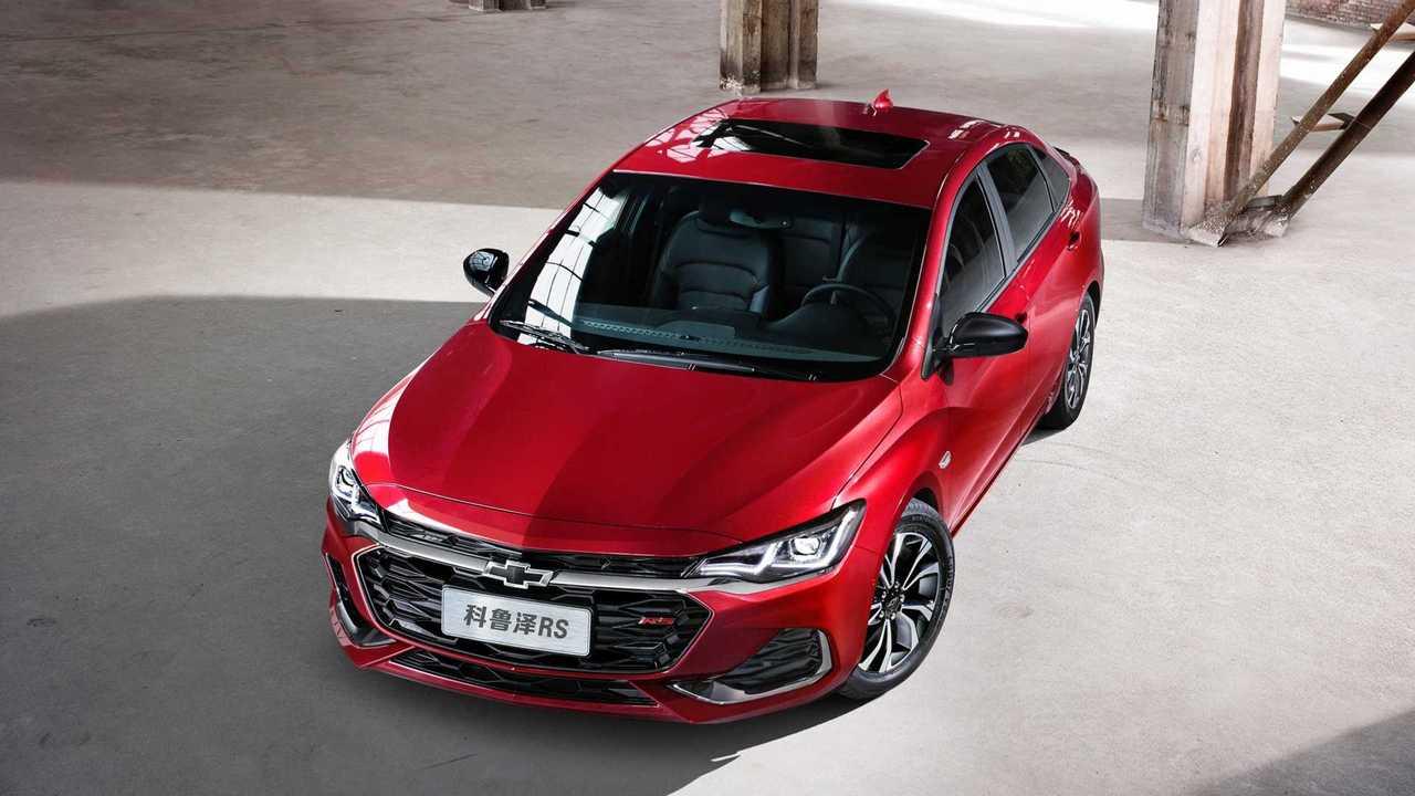 Novo Chevrolet Monza 2020 - China