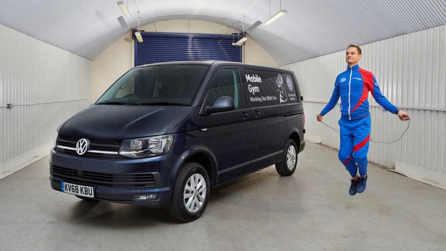 VW Keeps Van Drivers Healthy With Mobile Gym Initiative