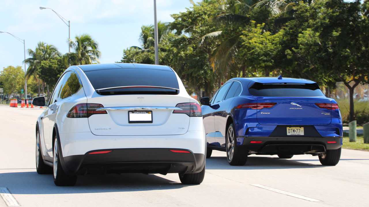 2019 Jaguar I Pace Vs 2018 Tesla Model X Comparison