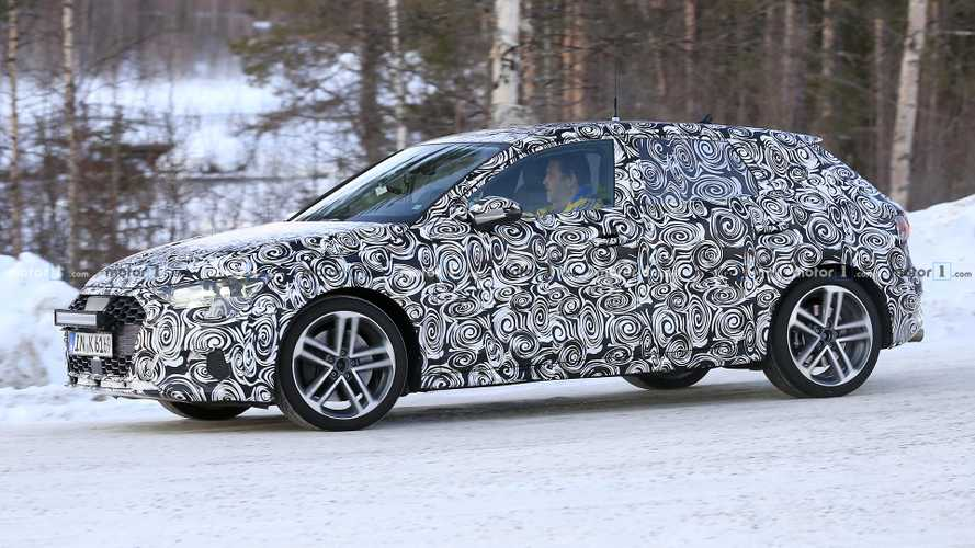 2020 Audi A3 Sportback Spied Together With S3 Hot Hatch