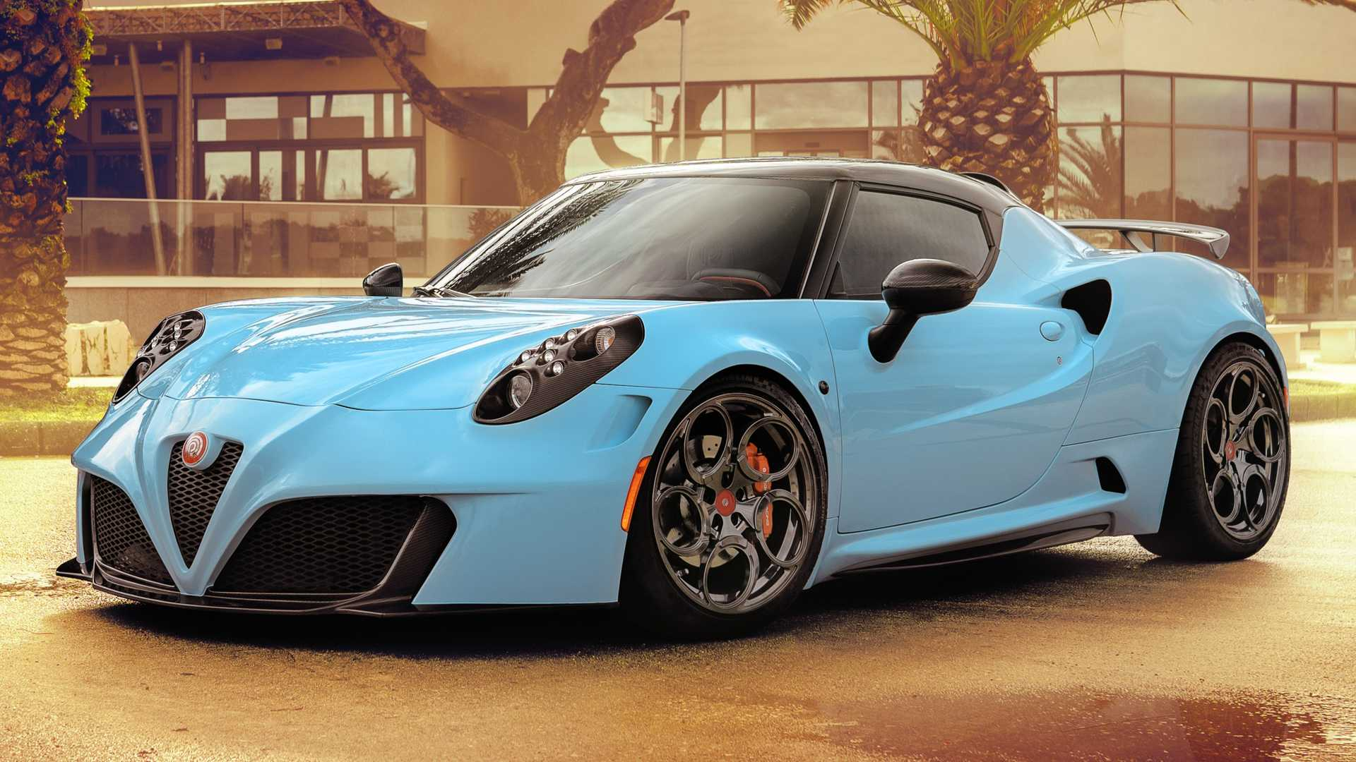 Alfa Romeo 4c >> Alfa Romeo 4c Zeus By Pogea Racing Adds Power And Lightness