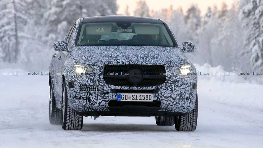 Mercedes-Benz GLE Coupe spy photos