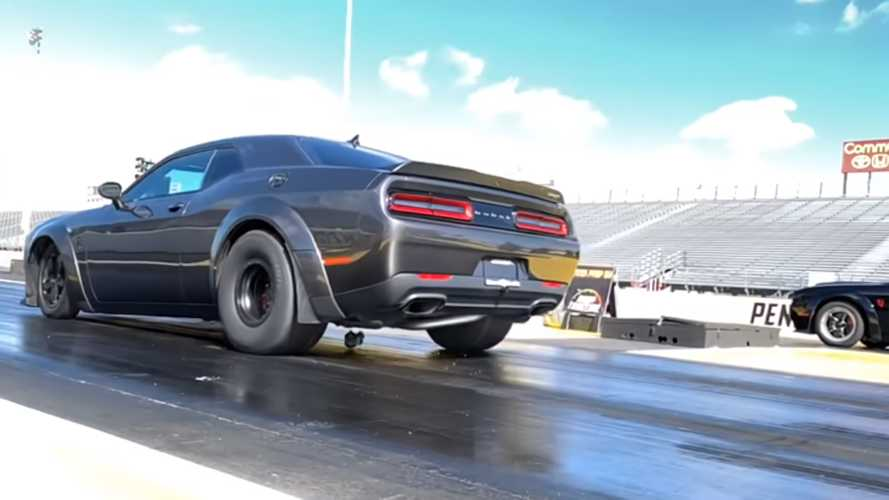 Watch Dodge Demons blow out their rear ends in slo-mo