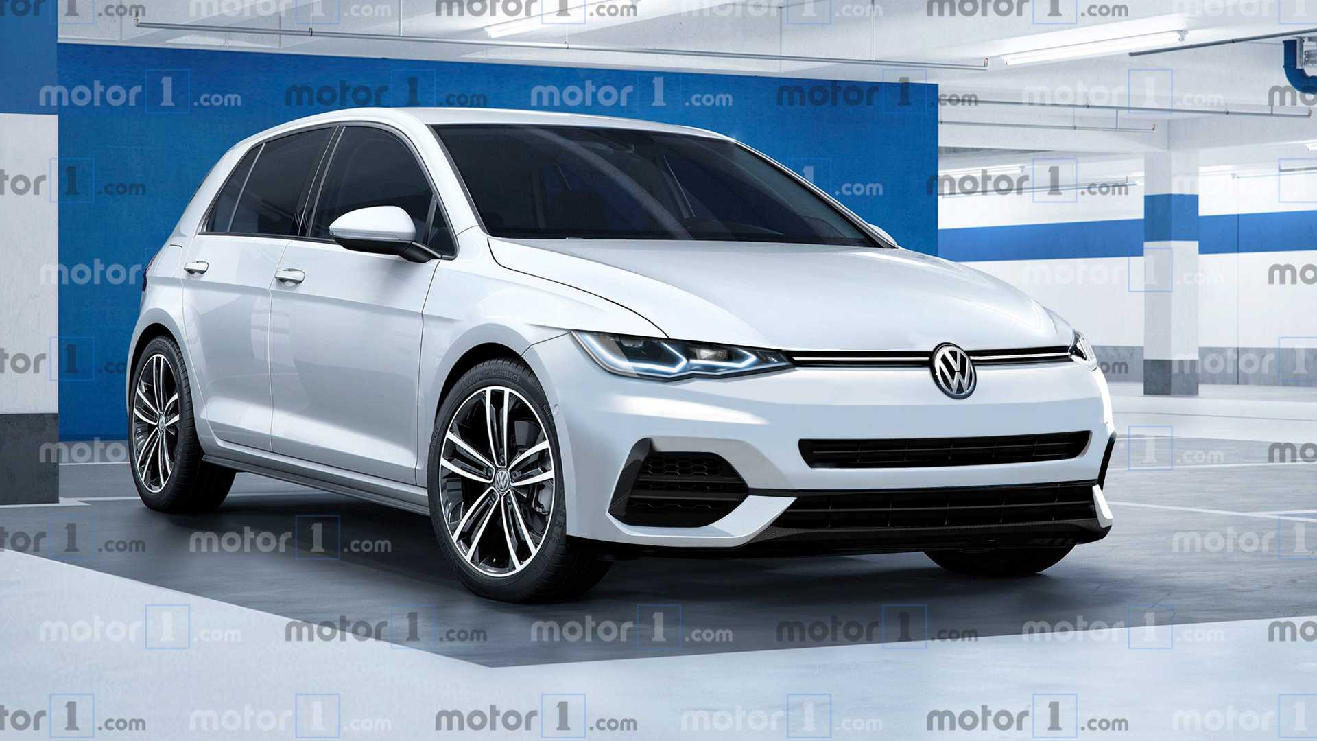 2020 VW Golf 8 officially confirmed for 24 October reveal