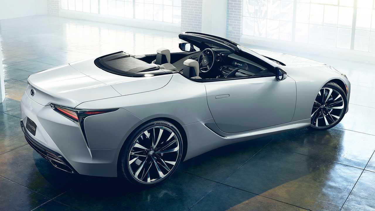 Lexus LC Кабриолет концепт