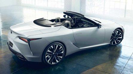 Lexus LC Convertible Concept: para soñar... a cielo abierto