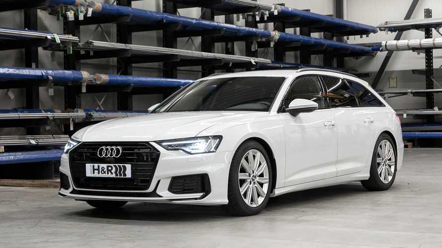 H&R-Sportfedern für die neue Audi-A6-Baureihe