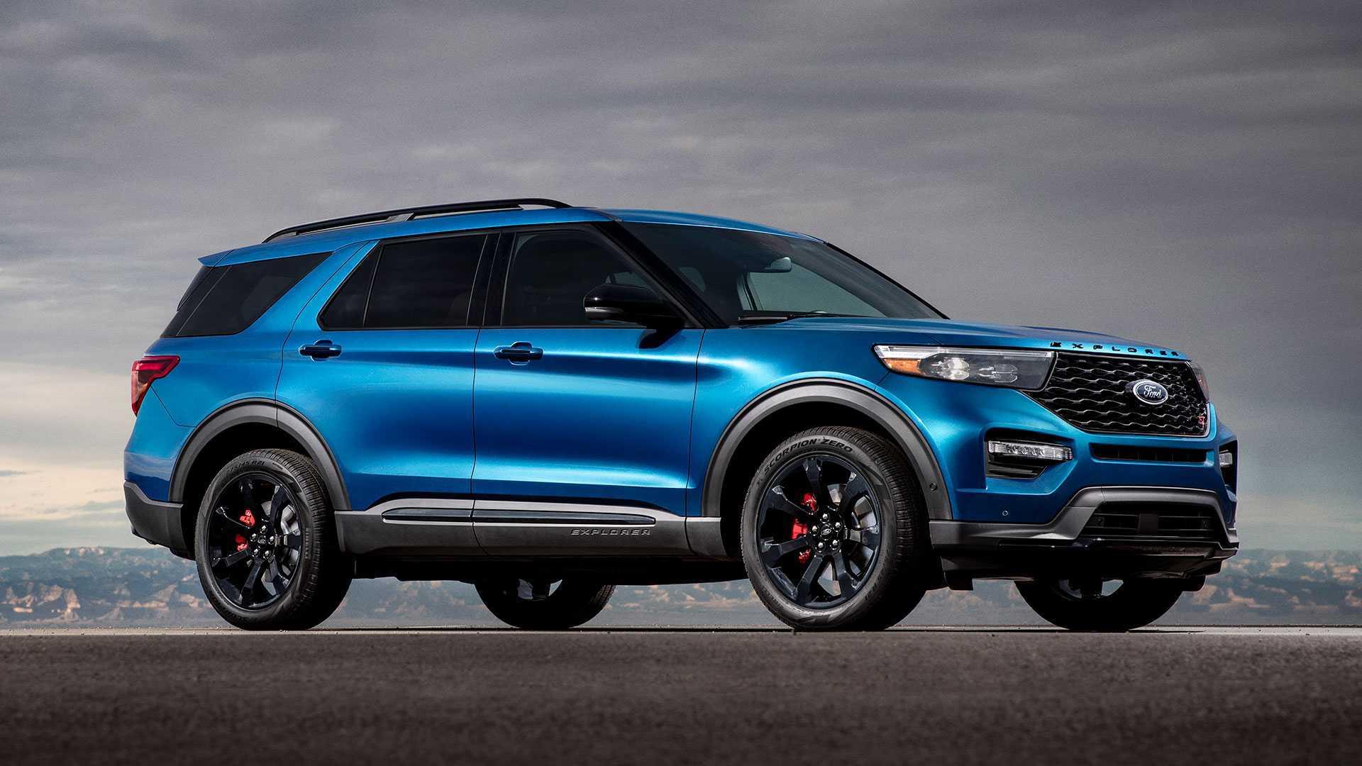 2021 Ford Explorer Sports Exterior