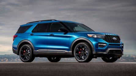 2020 Ford Explorer ST is a 400-bhp crossover for the family