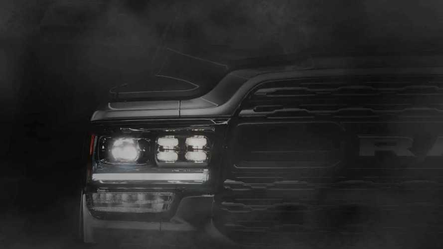 New Ram HD Teased Ahead Of Detroit Reveal On Monday