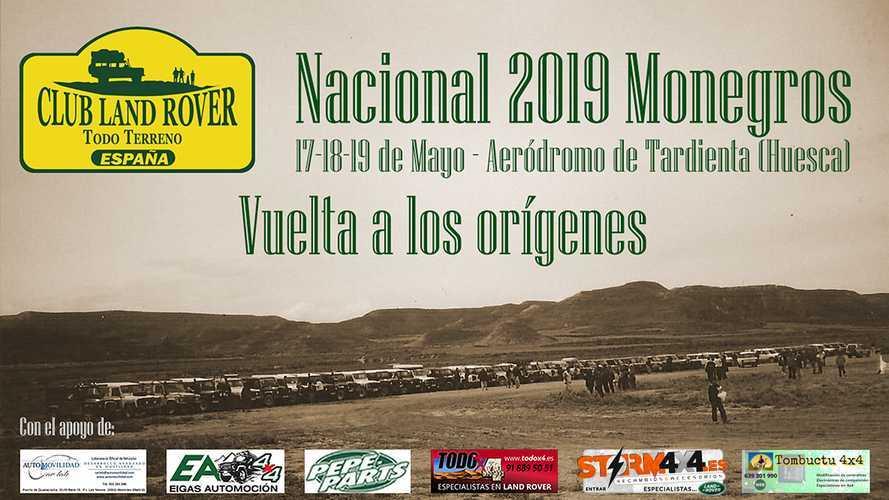 Club Land Rover TT España: la fiesta del 4x4 se celebrará en Monegros