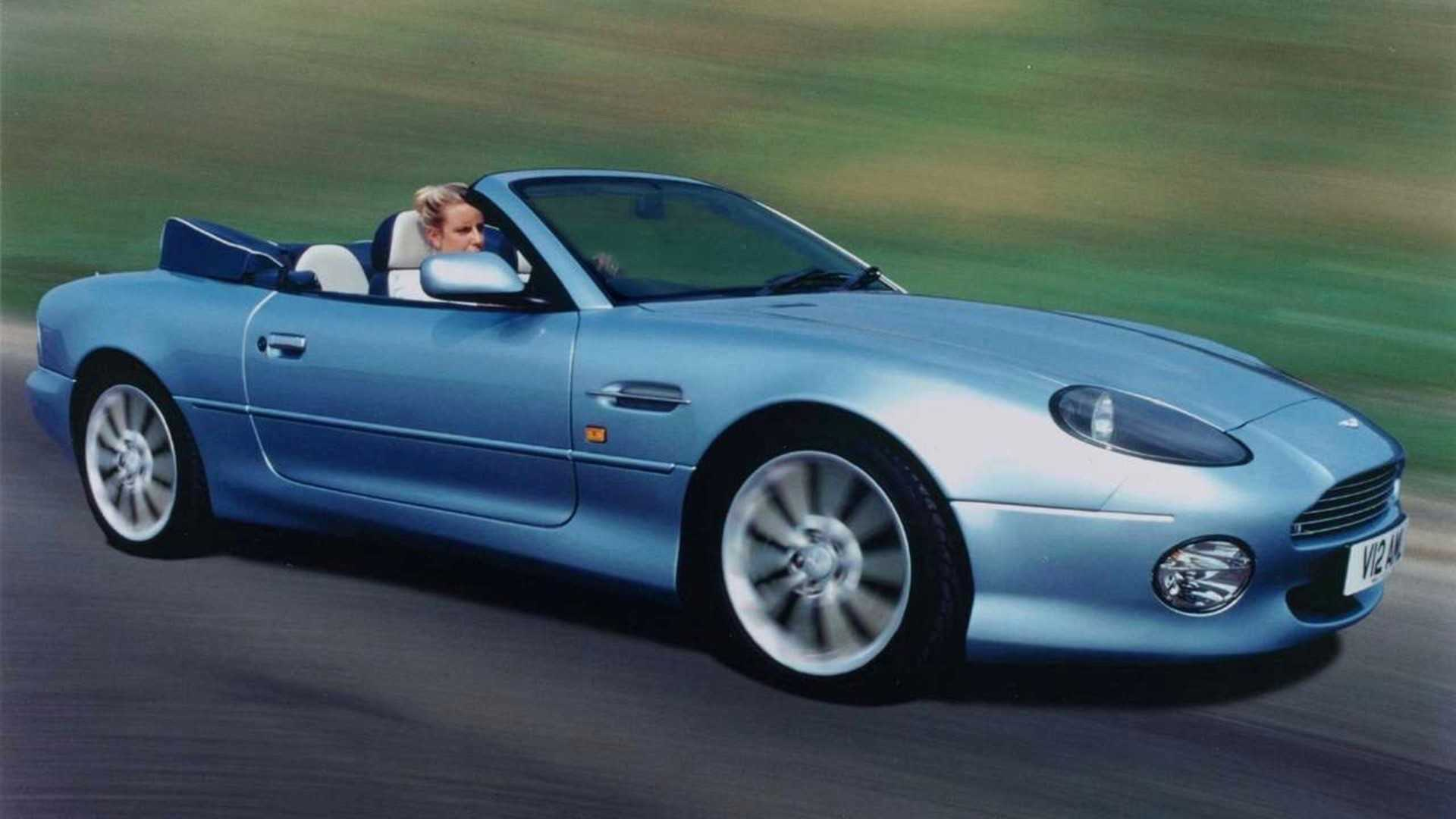 "[""25 Years of Aston Martin DB7""]"