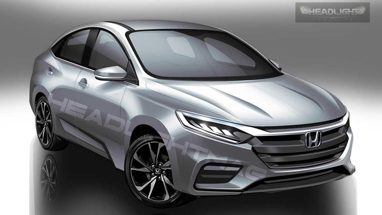 Honda City 2020 - Projeção