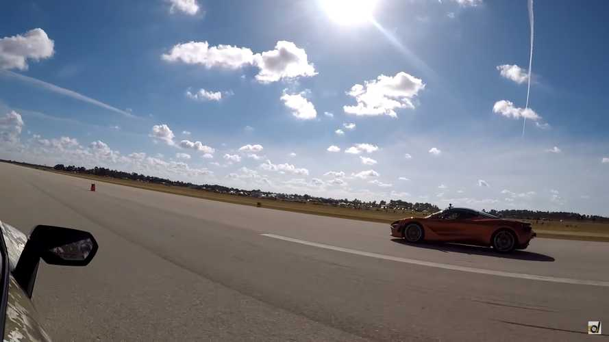McLaren 720S Vs Lamborghini Huracan Performante Drag Race