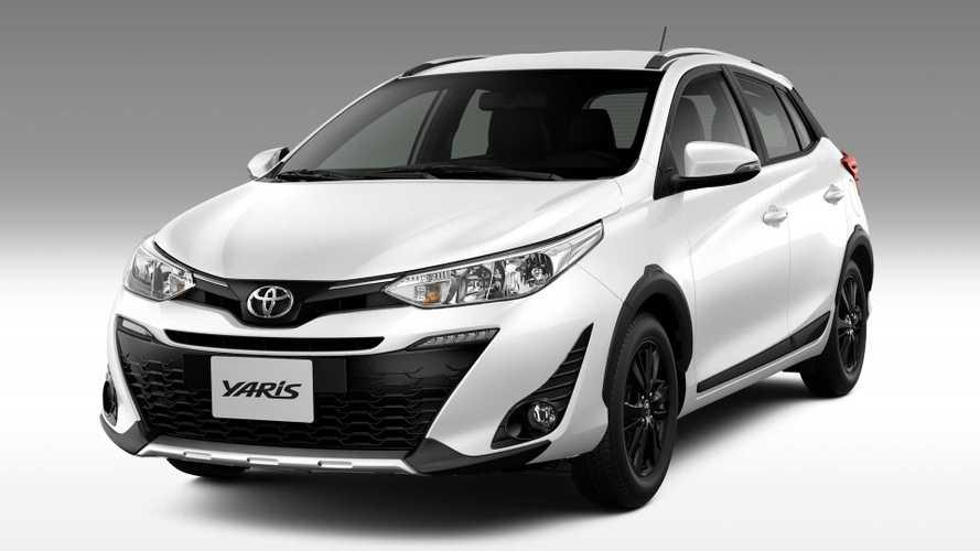Aventureiro Toyota Yaris X-Way começa a ser vendido por R$ 78.990