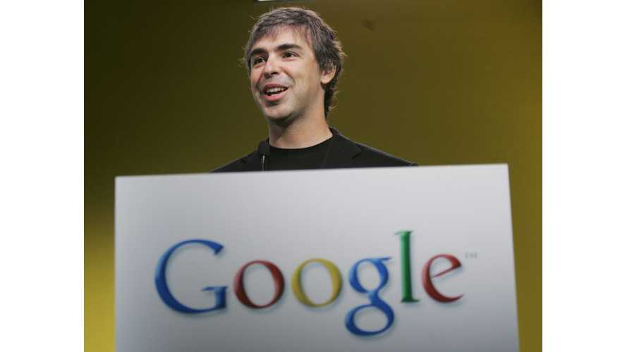 Google CEO Larry Page - My Billions Should Go To Tesla CEO Elon Musk