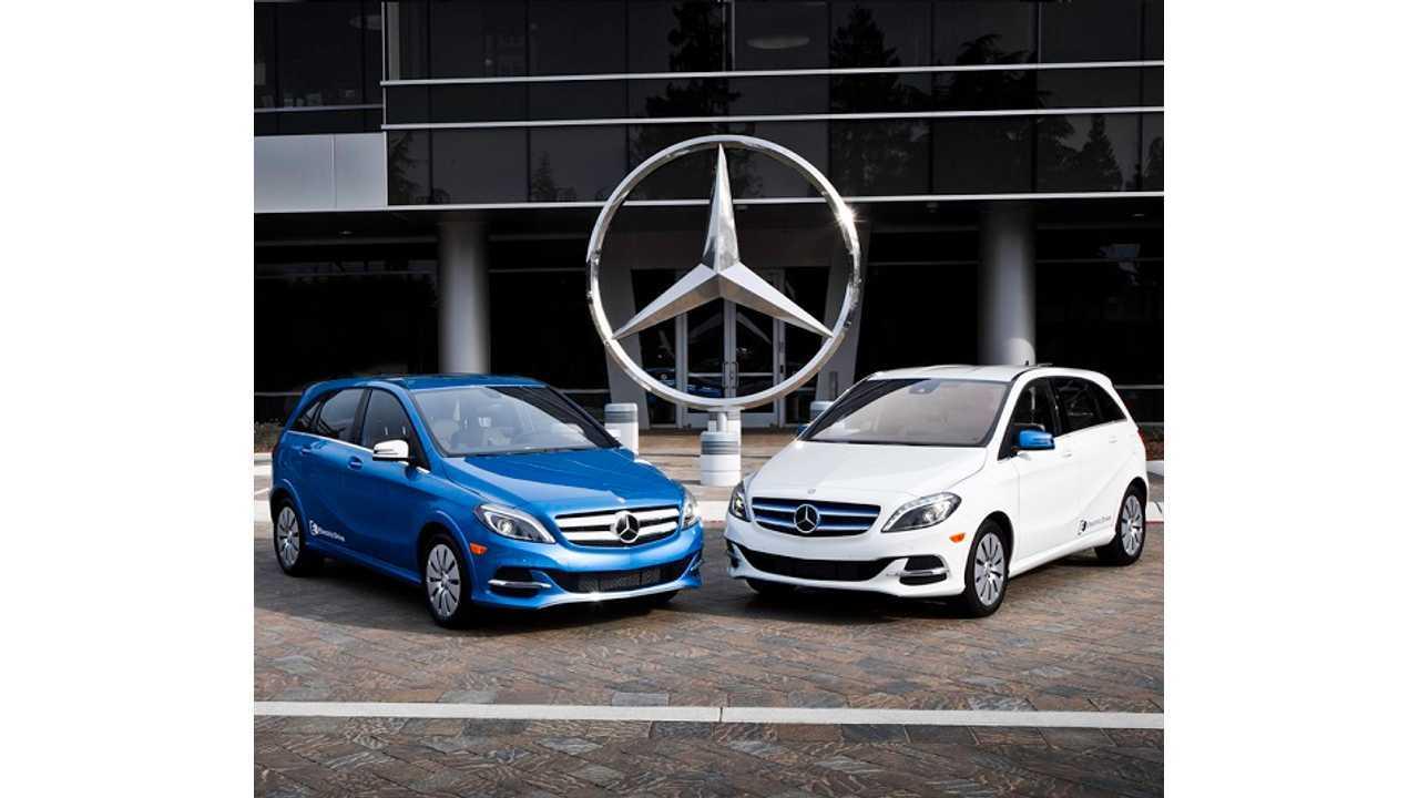 Full Mercedes-Benz B-Class Electric Drive Gallery