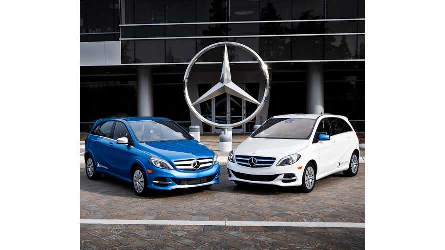 Full Mercedes-Benz B-Class Electric Drive Gallery