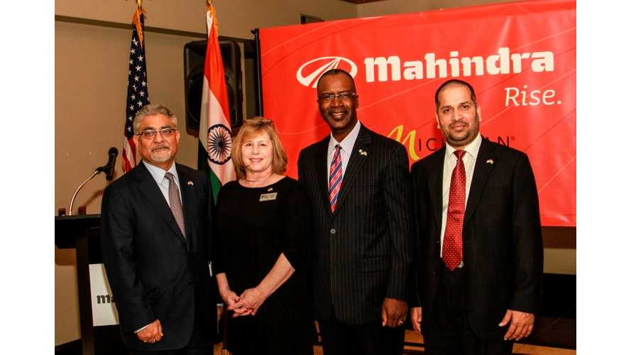 Mahindra Celebrates Opening Of US Technical Center - Gears Up For Production of GenZe Electric Scooter