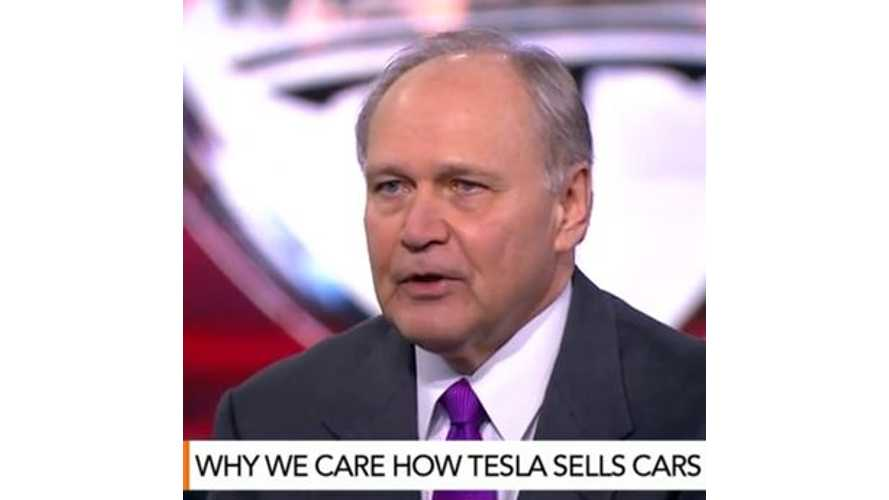 Former Chrysler CEO Discusses Tesla Direct Sales Concept - Video