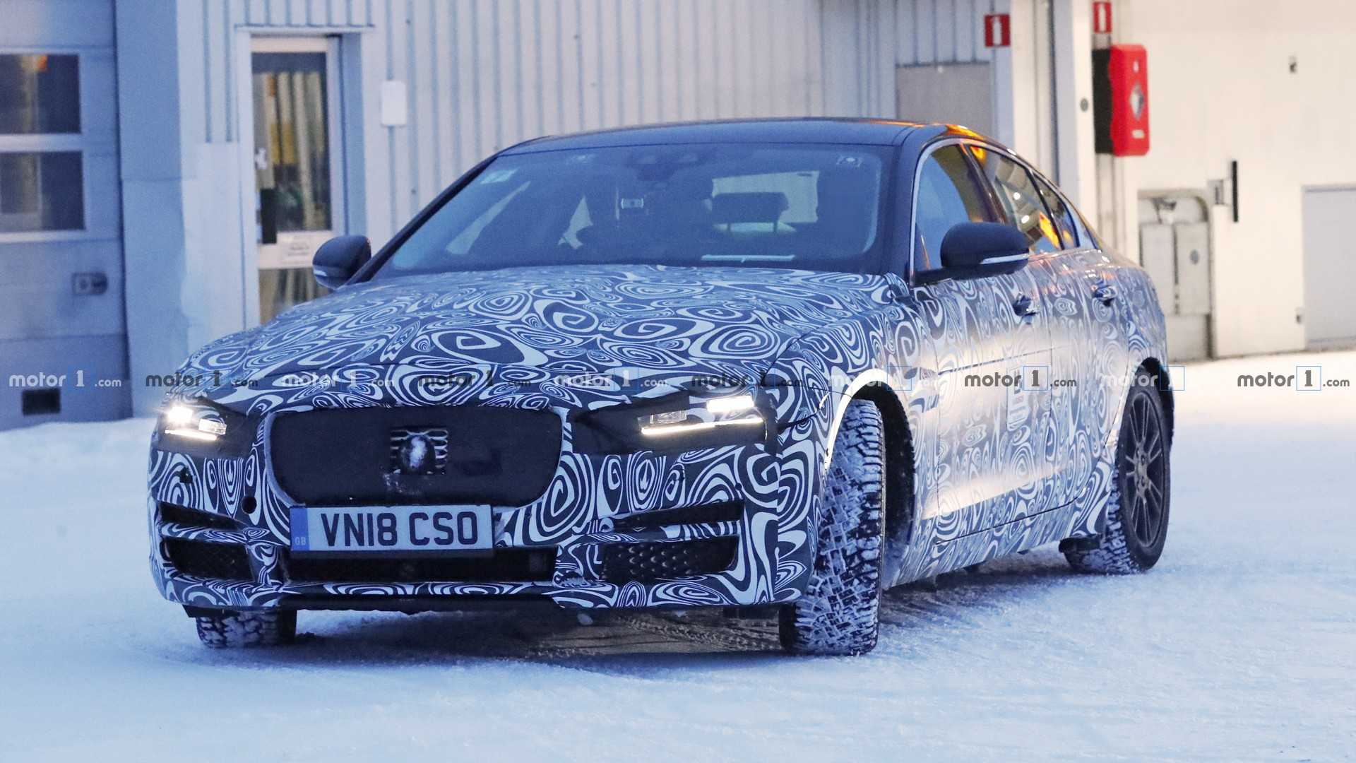 2020 Jaguar Xe Facelift Spotted Hiding Sleeker Headlights