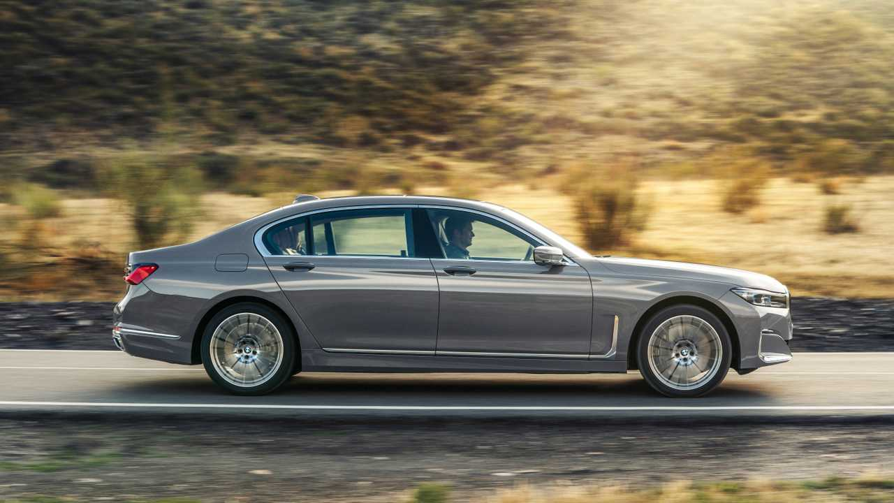 BMW Série 7 restylée (2019)