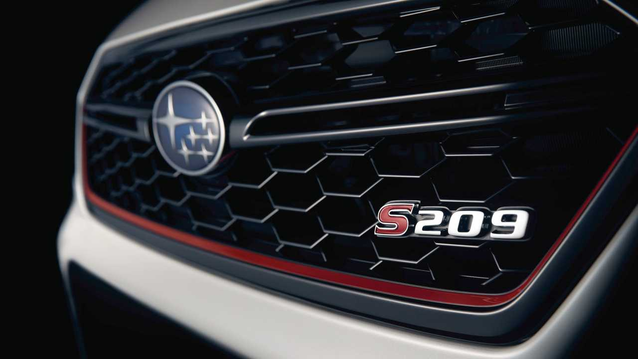 Subaru Impreza WRX STI S209 2019