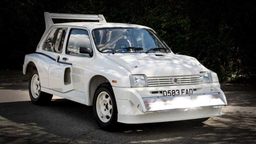This 'new' MG Metro rally special could fetch £200,000