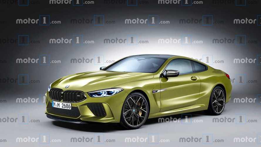 2019 BMW M8 Coupe böyle görünebilir