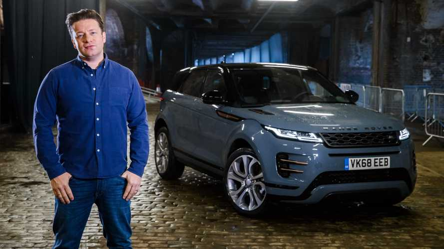 Jamie Oliver puts the new Range Rover Evoque through its paces