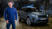 Jamie Oliver and the new Range Rover Evoque