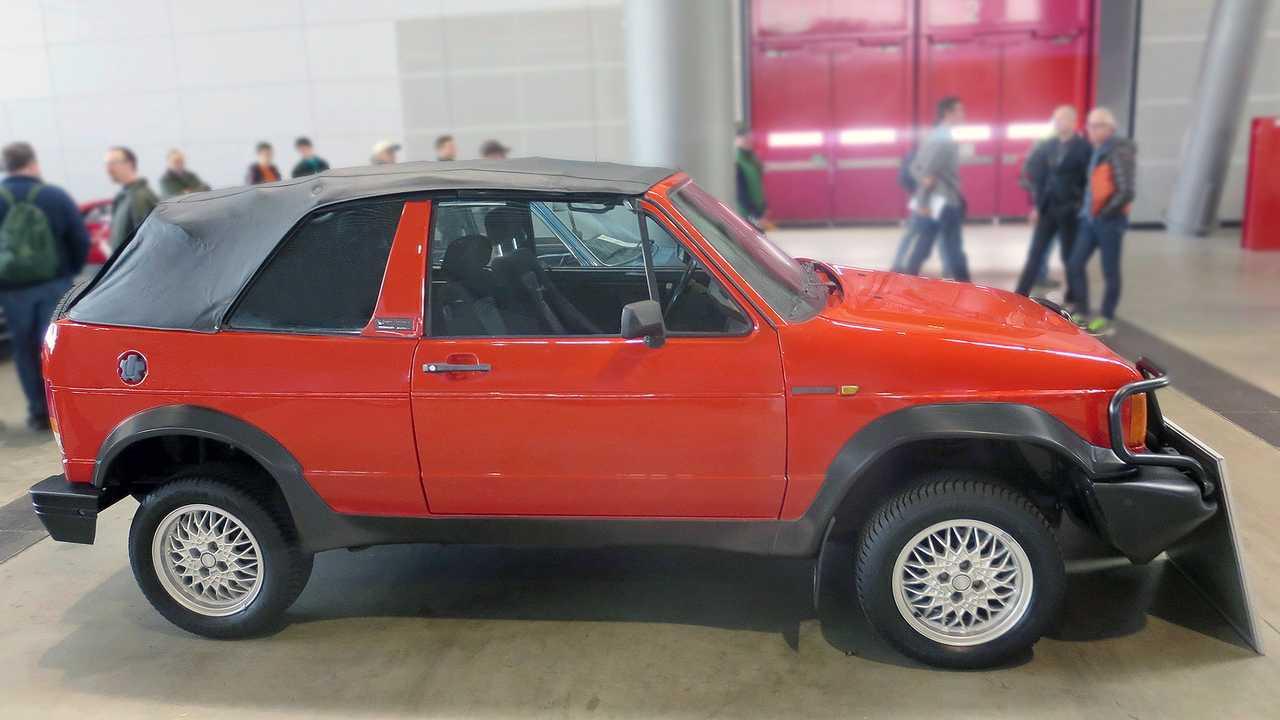 40 Jahre VW Golf Cabriolet