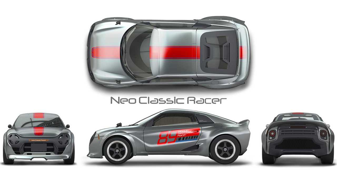 Honda S660 Neo Classic Racer Concept