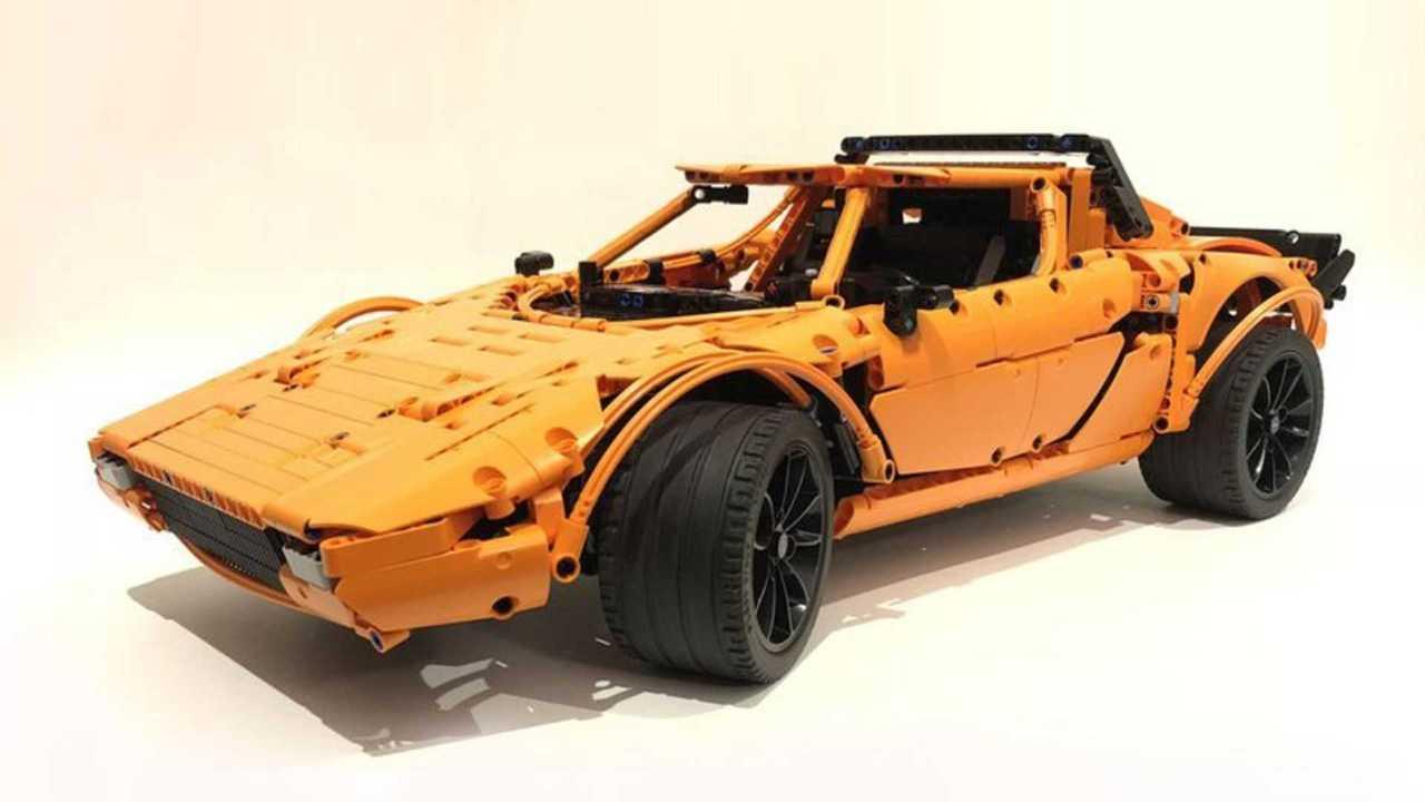 Lego Lancia Stratos - Orange