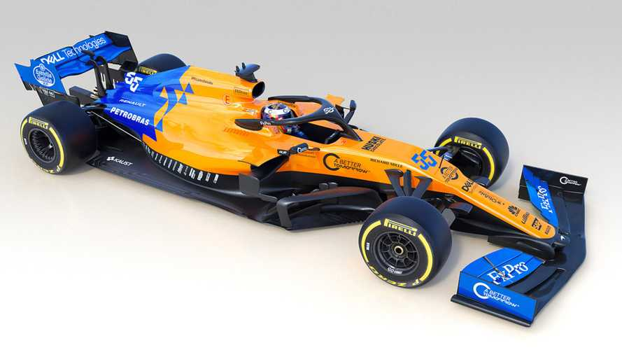 McLaren's 2019 F1 car breaks cover