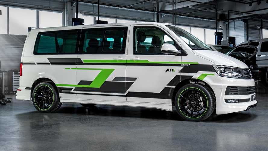 Abt Electrifies And Tunes VW T6 Transporter For Geneva