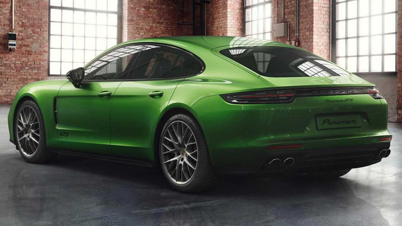 Porsche Exclusive Panamera GTS Mambo Green