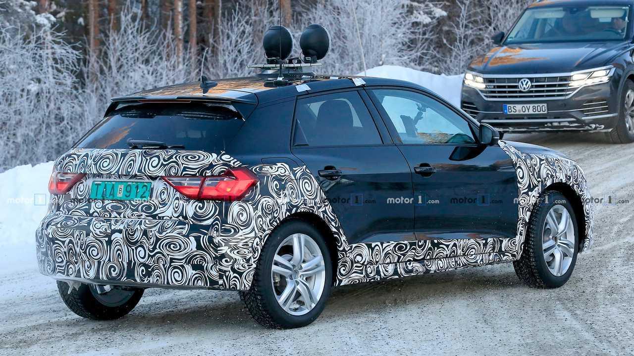 Flagra: Audi A1 Allroad