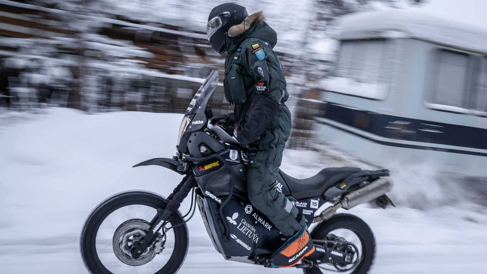 """The Aptly-Named """"Coldest Ride"""" Kicked Off In Siberia"""