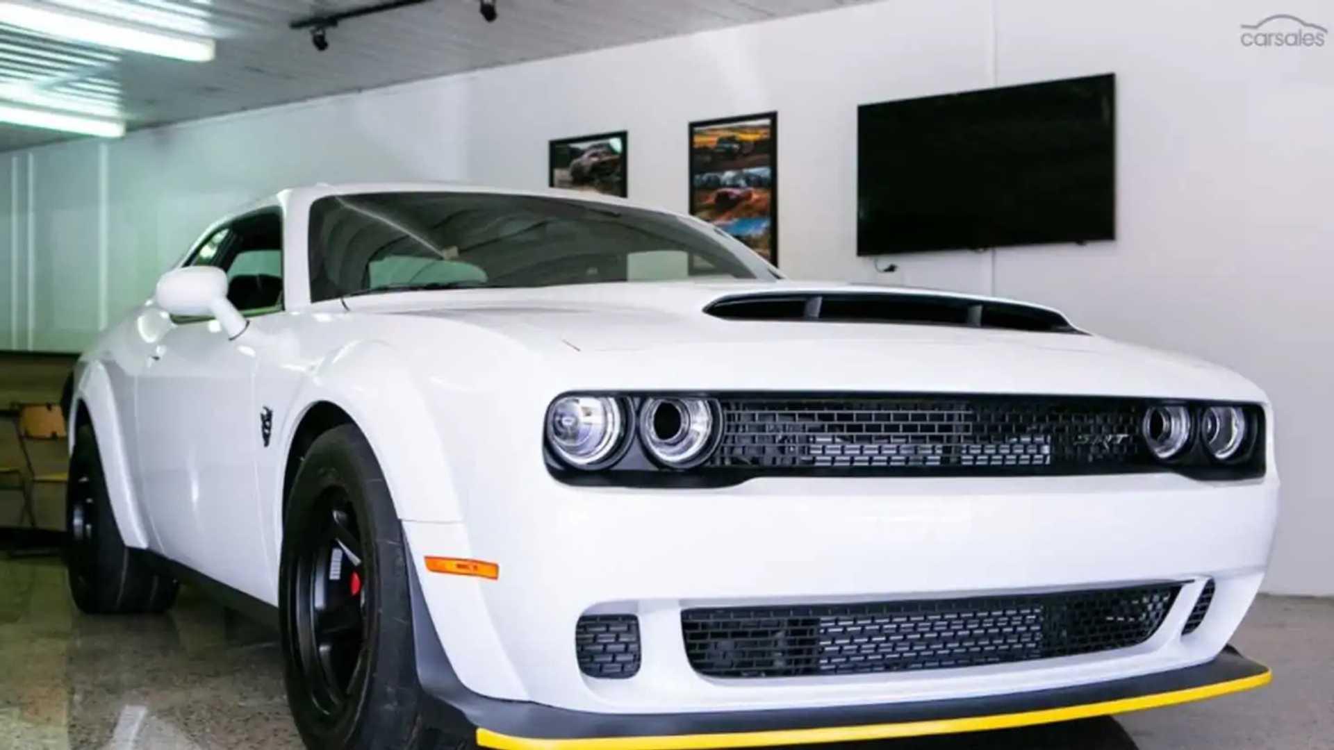 white dodge demon for sale Last production Dodge Demon for sale in Australia, or is it?