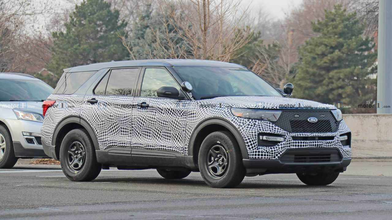 Ford Explorer Police Interceptor Spy Photo