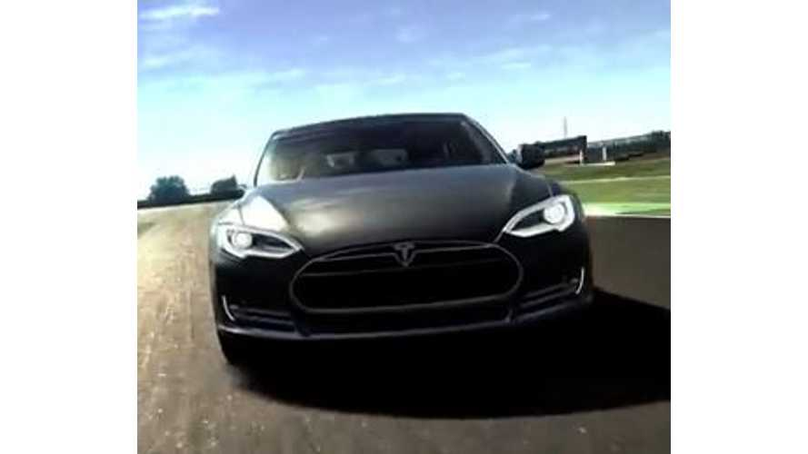 Video: Tesla Model S Makes Gran Turismo 6 Debut