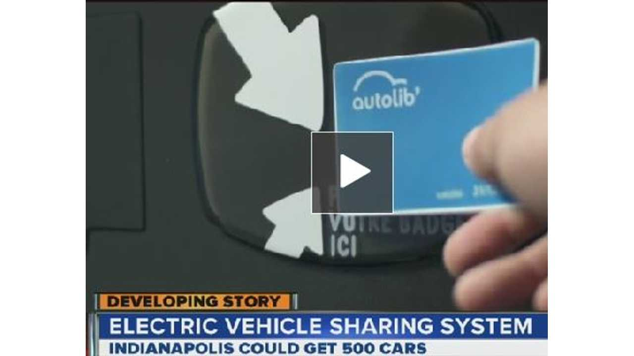France's Autolib Electric Vehicle Sharing Program Headed to Indianapolis (w/video) (UPDATE)