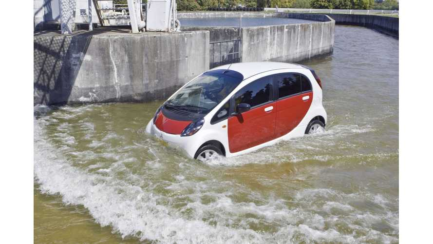 Are the Mitsubishi MiEV Series of EVs Losing Ground Everywhere?