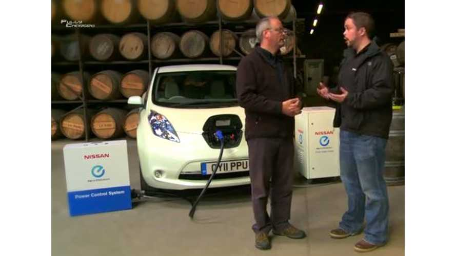 Video: Fully Charged Explores How a Nissan LEAF Powers a Home and Makes Hot Tottie