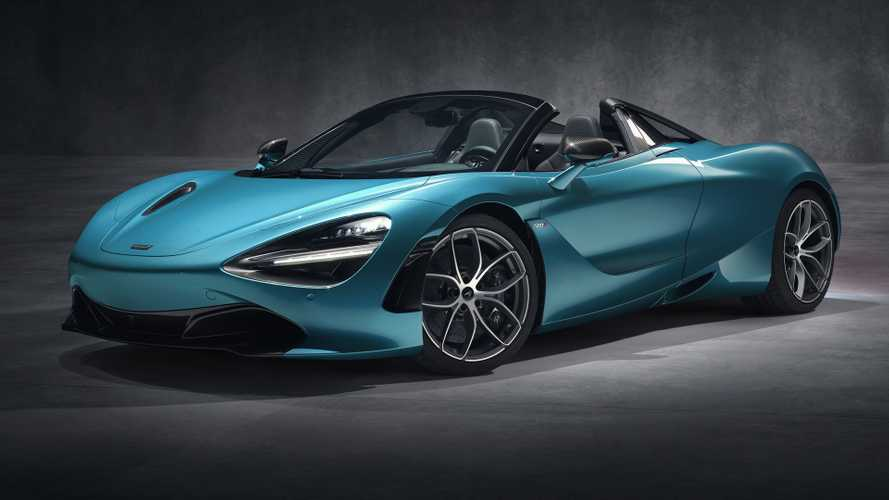 McLaren 720S Spider, scoperta all'inglese