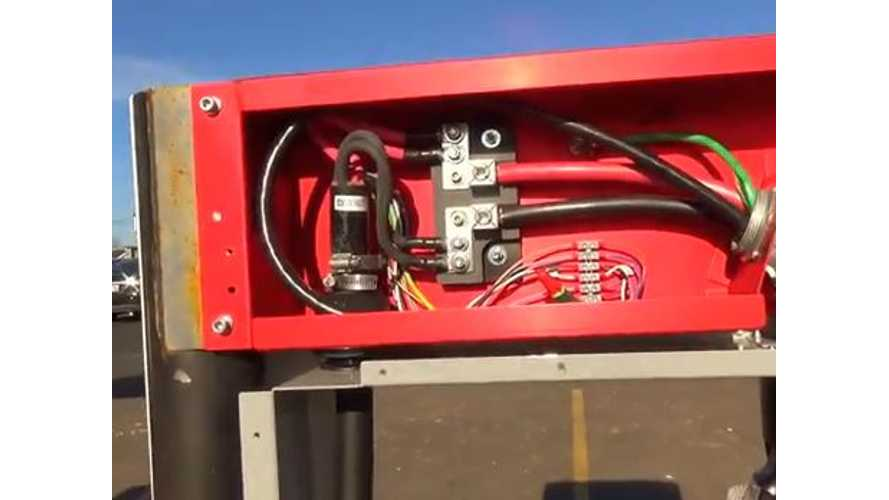 Video: Here's How a Tesla Superchargers Gets Tested