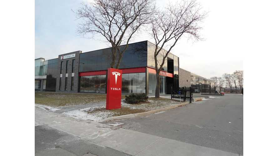 Tesla Opens Store and Attached Service Center in Toronto