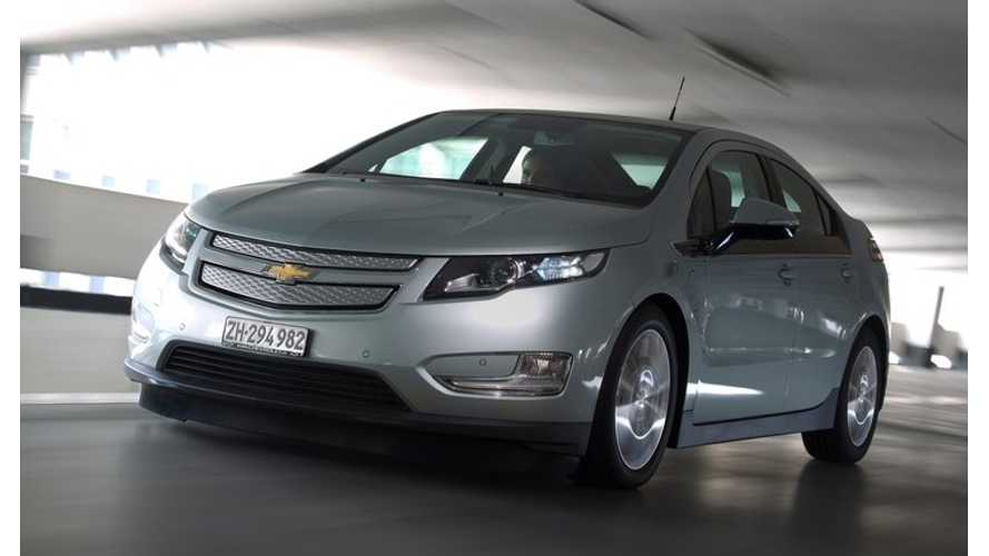 Beginning in 2016, Chevy Volt Will No Longer be Available in Europe