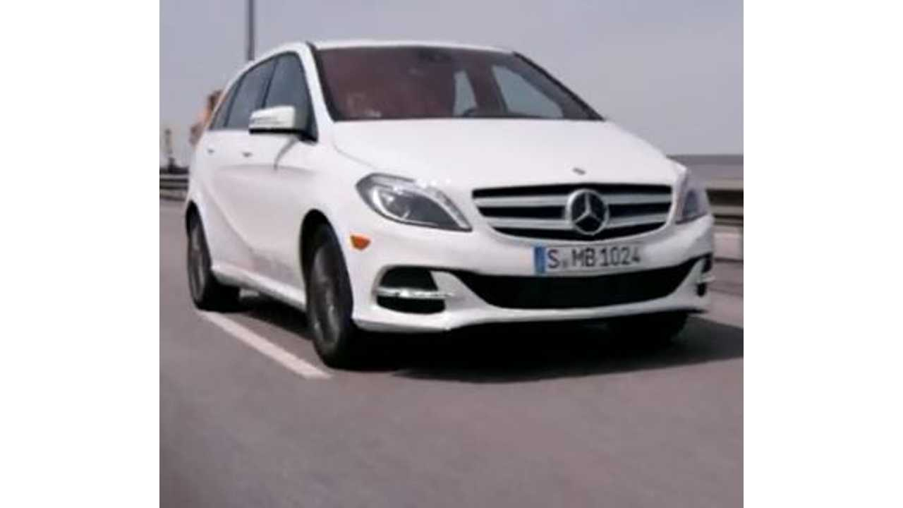 Video: AutoBild Reviews Mercedes-Benz B Class Electric Drive